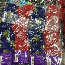 Lot Of 12 Pairs Marijuana Leaf Socks