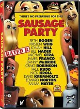 DVD - Sausage Party NEW 2016 *Adventure, Comedy, Animation* FAST SHIPPING !