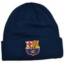Haube - FC Barcelona, Gewebt - Blau - Offiziell Lizensiertes Produkt
