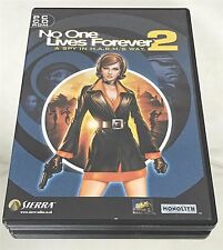 No One Lives Forever 2: A Spy in H.A.R.M.'s Way (PC, 2002) - European Version