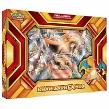 Pokemon Charizard-EX Box - Fire Blast Card Game (4 Boosters + 1 Jumbo)