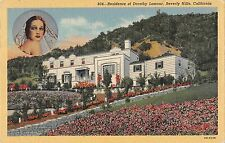 BR70476 california beverly hills residence of dorothy lamour usa