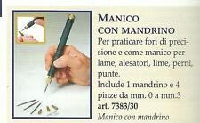 AMATI  ATTREZZO PER MODELLISMO MANICO CON MANDRINO E 4 PINZE   ART 7383/30