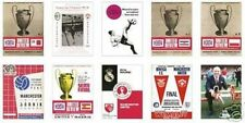 Manchester United 1968 European Cup Trading Card Set