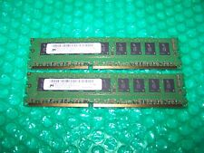 4GB DDR3 Micron 1333MHz PC3-10600 ECC Unbuffered RAM (2x 2GB)