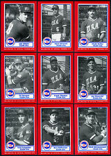 1987 USA BASEBALL PAN-AM TEAM~RARE BDK 26-CARD FACTORY SEALED SET w/FRANK THOMAS