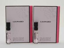 5 x Leonard Eau De Parfum Vial Sample 1.5ml 0.05 fl oz New With Cards