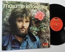 MAXIME Le FORESTIER self-titled FRENCH LP Canada Polydor Excellent vinyl !