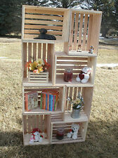 """18"""" wooden crate, wood crate, wood storage crate,  display crate"""
