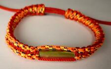 Buddha Sacred SAI SIN BRACELET blessed by Buddhist Monk. RED MULTI COLOUR B