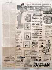 Poster Flyer Casis Village Grocery Shopping Ctr Exposition Austin Texas 1955 #1