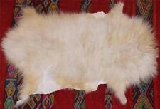 FAIR TRADE GENUINE QUALITY SHEEP SKIN RUG WALL HANGING MOROCCAN  LEATHER HIDE