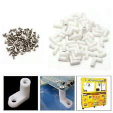 40Pcs L Type PCB Mounting Feet with Screw for Arcade JAMMA MAME Game Board