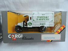 Corgi Classics 1926 Renault  Canvas Back Truck - Galaries Lafayette 922