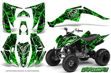YAMAHA RAPTOR 350 GRAPHICS KIT CREATORX DECALS STICKERS SAMURAI GB