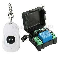 DC 12V Wireless Remote Control Relay Learn Code Switch Transmitter Receiver