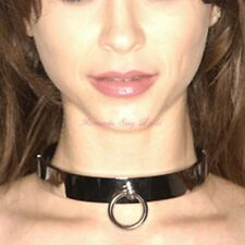Slave Collar Fetish Toy Stainless Steel Neck Restraint Fixation Collar Necklace