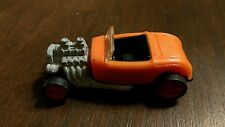 Vintage Hot Wheels Mattel 1993 Old Orange Hot Rod Toy car Collectible Rare htf