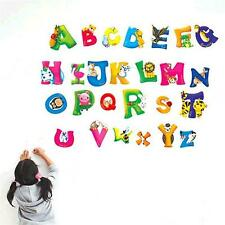 A-Z 26 Alphabet letters Wall Stickers Decal Vinyl Kids Bedroom Home DecorationAA