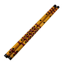 Long Bamboo Flute Clarinet Student Musical Instrument 7 Hole 42.5cm2J2