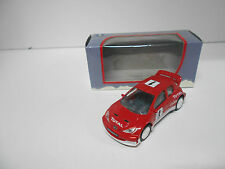 PEUGEOT 206 WRC RALLY #1 TOTAL CLARION RED NOREV 3 INCHES 1/64