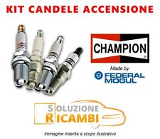 KIT 4 CANDELE CHAMPION CHEVROLET CRUZE '11-  1.6 91 KW 124 CV