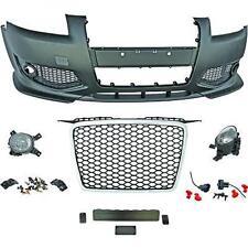 Paraurti anteriore sportivo TUNING AUDI A3 05-08 calandra nera, per sensori per