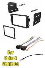Double Din Radio Kit Combo for select 07-13 GM Sierra Yukon Silverado Avalanche