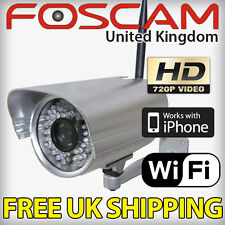 Foscam FI9805W 1.3MP HD Wireless N Outdoor IP Camera Heavy Duty Security CCTV