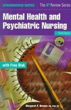 Mental Health and Psychiatric Nursing (Book with Diskette)