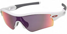 New OAKLEY Radar Path Polished White Frame w/ + Red Iridium Lens OO9051 09-768