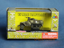 WW2 1:144 Scale Wargame Diorama US M3 Half Track Armor Vehicle Model NMT 424