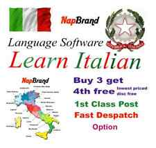 ITALIAN Language Course Holiday or Business use CD mp3 audio & text