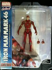 Diamond Select Marvel Select 2016 Civil War Mark 46 Iron Man