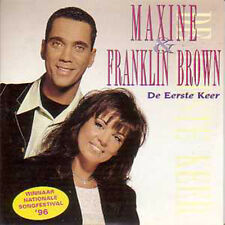 CD SINGLE EUROVISION 1996 Pays-bas : Maxine & Franklin Brown De eerste keer 2-t