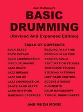 Learn to play Drums Basic Drumming Book Joel Rothman