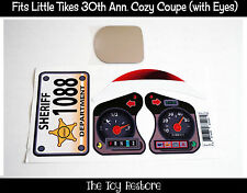 New Replacement Decals Stickers fits Little Tikes Tykes Cozy Coupe 30th Sheriff