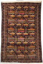 187x120cm romanzesco Old Afghan era RUG TAPPETO Guerra Afghanistan tappeto orientale 10