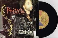 """PRINCE - THIEVES IN THE TEMPLE - 7"""" 45 VINYL RECORD w PICT SLV - 1990"""