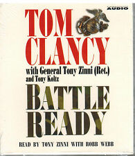 Battle Ready by Tom Clancy (2004, CD, Abridged) NEW and SEALED  - 6 Hours long