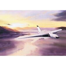 Avro Vulcan V Bomber Jet Aircraft Plane Blank Birthday Fathers Day Card