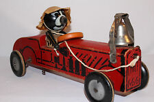 1920's Felix The Cat Fire Chief Car, Largest Size, Original