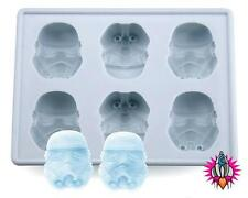 NEW OFFICIAL STAR WARS STORMTROOPER SILICON ICE CUBE TRAY MOULD NEW AND SEALED