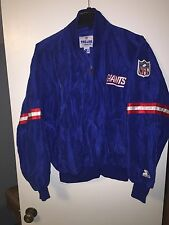 Vintage 80s New York Giants Starter NFL Authentic Pro Line Jacket XL Pullover NY