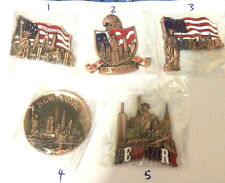 1 PC NEW YORK CITY Statue of Liberty NY Souvenir Gift Fridge Magnets asscorted
