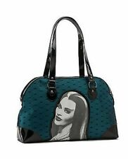 The Munsters Lily Lace Blue Tv Show Horror Gothic Rockabilly Rocker Handbag