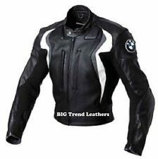 BMW Black Motorcycle Leather Jackets Motorbike jackets Moto Gp Bikers jackets