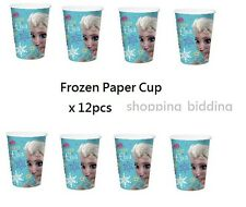 Frozen Anna Elsa Birthday Party Cup Tablewares 12pcs drink party 2016
