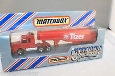 "Matchbox 1983 Convoy CY17 Scania Tanker ""TIZER""  As New"