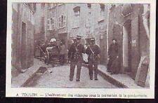 1906  --  TOULON  ENLEVEMENT VIDANGES PROTECTION POLICE